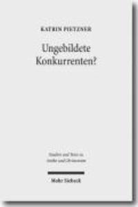 Bildung, Elite und Konkurrenz - Heiden und Christen vor der Zeit Constantins.
