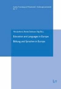 Bildung und Sprachen in Europa - Education and Languages in Europe.