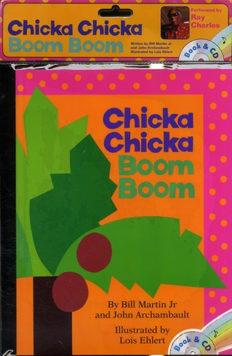 Chicka Chicka Boom Boom  avec 1 CD audio