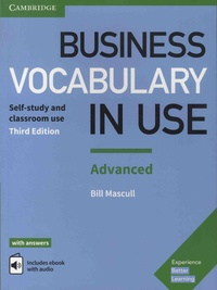 Bill Mascull - Business Vocabulary in Use Advanced - Self-study and classroom use.