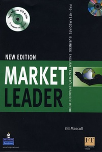 Bill Mascull - Market Leader Pre-Intermediate 2008 Teacher's Book Pack (with DVD and Test Master multi-ROM).
