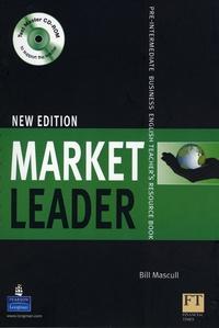 Histoiresdenlire.be Market Leader Pre Intermediate 2008 teacher's resource book with test master multi-ROM Image