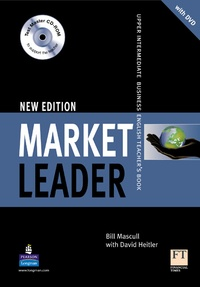 Bill Mascull - Market Leader Upper Intermediate 2d edition 2008 Teacher's Book pack (with DVD and test master multi-ROM).