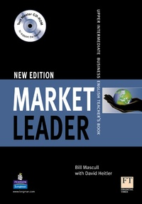 Bill Mascull - Market Leader  Upper Intermediate 2d edition 2008 teacher's book with test master multi-ROM.