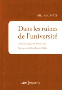 Bill Readings - Dans les ruines de l'université.