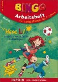 Bingo-Arbeitsheft. Hexe Lilli und das verzauberte Fußballspiel - Für Leseanfänger ab 7 Jahren.