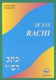 Binyamin Tubiana - Je lis Rachi - Cahier d'exercices.