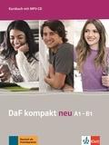 Birgit Braun et Margit Doubek - DaF kompakt neu A1-B1 - Kursbuch. 1 CD audio MP3