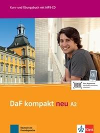 Birgit Braun et Margit Doubek - DaF kompakt neu A2 - Kurs- une Übungsbuch. 1 CD audio MP3