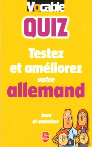 Birgit Reimann - Vocable Quiz allemand.