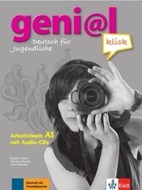 Birgitta Fröhlich et Michael Koenig - geni@l klick A1 - Arbeitsbuch mit 2 Audio-CDs - Deutsch als Fremdsprache für Jugendliche.