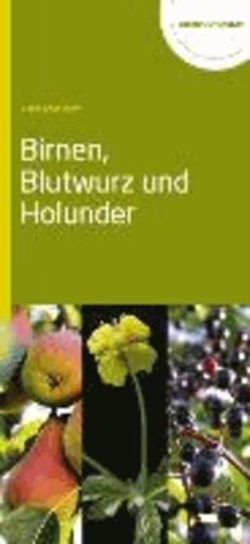 Birnen, Blutwurz und Holunder.