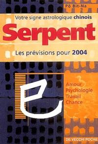 Bit-Na Pô - Serpent - Horoscope 2004.