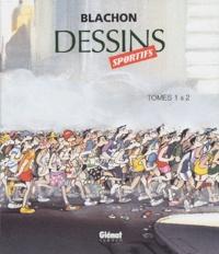 Blachon - Dessins sportifs Coffret 2 volumes : Tome 1 et  2.