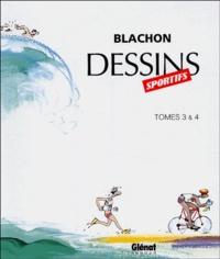 Blachon - Dessins sportifs Coffret 2 volumes : Tomes 3 & 4.