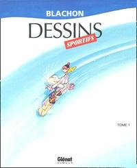 Blachon - Dessins sportifs - Tome 1.