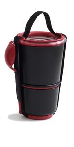 BLACK & BLUM - LUNCH POT - rouge