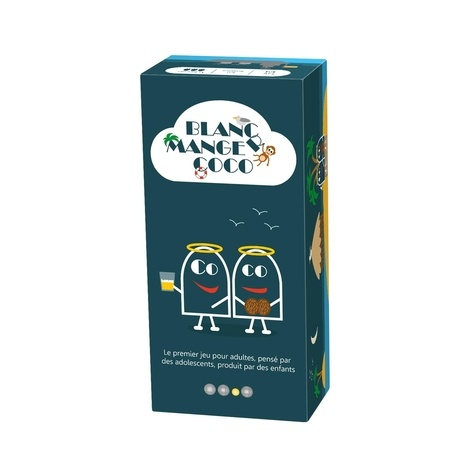 BLACKROCK GAMES - Jeu blanc manger coco