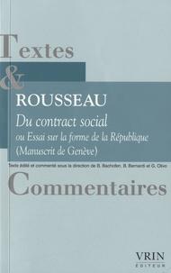 Jean-Jacques Rousseau - Du contrat social ou essai sur la forme de la République.pdf