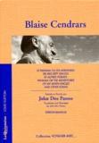 Blaise Cendrars - Le Panama ou Les aventures de mes sept oncles - Et autres poèmes.