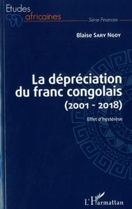 Accentsonline.fr La dépréciation du franc congolais (2001-2018) - Effet d'hystérèse Image