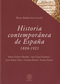 Blanca Buldain jaca - Historia contemporánea de España 1808-1923.
