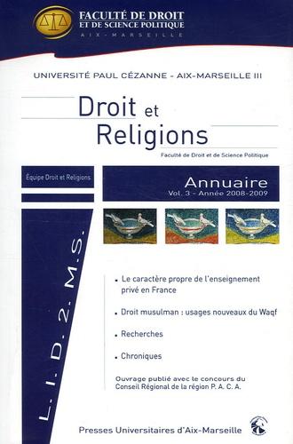 Blandine Chélini-Pont - Annuaire Droit et religions - Volume 3.