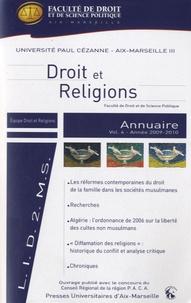 Blandine Chélini-Pont - Annuaire Droit et religions - Volume 4.