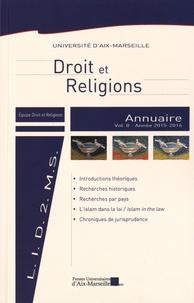 Blandine Chélini-Pont - Annuaire Droit et religions - Volume 8.