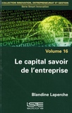 Blandine Laperche - Le capital savoir de l'entreprise.