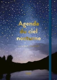 Blandine Pluchet - Agenda du ciel nocturne 2021-2022.