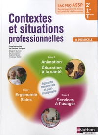Deedr.fr Bac Pro ASSP 2e/1e/Tle, Contextes et situations professionnelles à domicile Image