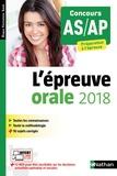 Blandine Savignac - L'épreuve orale - Concours AS/AP, Préparation à l'épreuve.