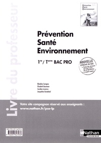 Prévention, santé, environnement 1re/Tle Bac Pro - Livre du professeur.pdf