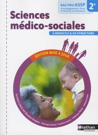 Sciences médico-sociales à domicile et en strucutre 2e Bac Pro ASSP - Blandine Savignac pdf epub