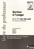 Blandine Savignac - Services à l'usager en structure et à domicile 2de-1re-Tle Bac Pro ASSP - Livre du professeur.