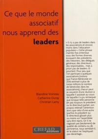 Blandine Voineau et Catherine Duray - Ce que le monde associatif nous apprend des leaders.