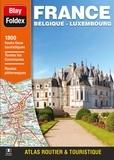 Blay-Foldex - Atlas routier et touristique France-Belgique-Luxembourg - 1/250 000.