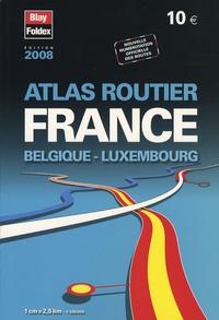 Deedr.fr Atlas routier France Belgique Luxembourg - 1/250 000 Image