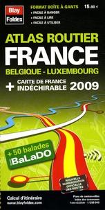 Blay-Foldex - Atlas routier France-Belgique-Luxembourg.
