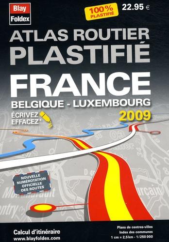 Blay-Foldex - Atlas routier plastifié France Belgique Luxembourg.