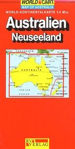 RV Verlag - Australie Nouvelle-Zélande - 1/4 000 000.