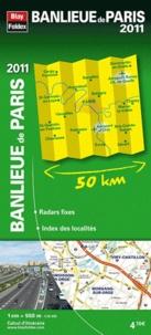Blay-Foldex - Banlieue de paris - 1/55 000.