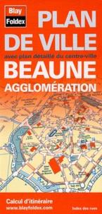 Galabria.be Beaune agglomération - Plan de ville Image