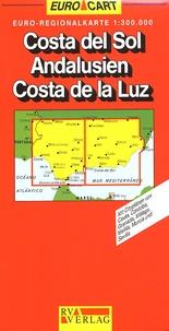 RV Verlag - Costa del Sol Andalousien Costa de la Luz - 1/300 000.