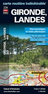 Blay-Foldex - Gironde, Landes - 1/180 000.