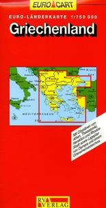 RV Verlag - Griechenland/Grèce - 1/750 000.