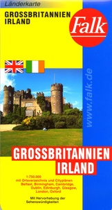 Falk - Grossbritannien-Irland/Great Britain-Ireland - 1/750 000.