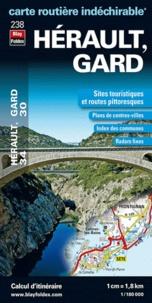 Blay-Foldex - Hérault, Gard - 1/180 000.