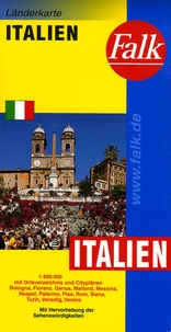 Falk - Italien - 1/600 000.